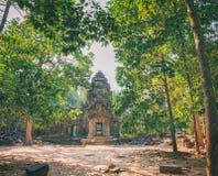 Ναός SOM TA σε Angkor σύνθετο, Καμπότζη Στοκ Φωτογραφία