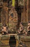 Ναός Srei Banteay, Angkor Wat, Καμπότζη Στοκ φωτογραφίες με δικαίωμα ελεύθερης χρήσης