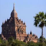Ναός Sulamani - Bagan - το Μιανμάρ στοκ φωτογραφία με δικαίωμα ελεύθερης χρήσης