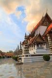 Ναός Suthat στεγών εκκλησιών στη Μπανγκόκ, Ταϊλάνδη Στοκ εικόνα με δικαίωμα ελεύθερης χρήσης