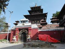 Ναός Taleju στοκ εικόνες