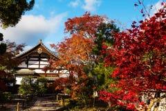 Ναός Tenryu-tenryu-ji στο φθινόπωρο, Arashiyama Στοκ εικόνα με δικαίωμα ελεύθερης χρήσης