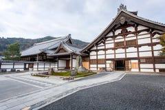 Ναός Tenryu-tenryu-ji Στοκ εικόνα με δικαίωμα ελεύθερης χρήσης