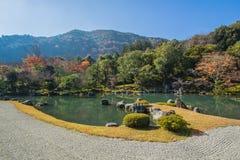 Ναός Tenryuji σε Arashiyama, Κιότο, Ιαπωνία Στοκ φωτογραφία με δικαίωμα ελεύθερης χρήσης