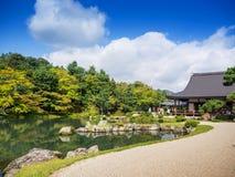 Ναός Tenryuji σε Arashiyama, Κιότο, Ιαπωνία Στοκ Φωτογραφίες