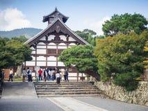 Ναός Tenryuji σε Arashiyama, Κιότο, Ιαπωνία Στοκ Φωτογραφία