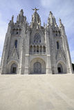 Ναός Tibidabo, Βαρκελώνη Στοκ Φωτογραφίες