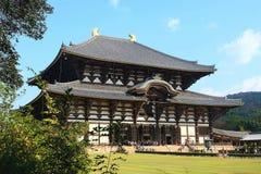 Ναός Todai-todai-ji Στοκ φωτογραφία με δικαίωμα ελεύθερης χρήσης