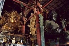 Ναός Todaiji μια θερμή ημέρα ανοίξεων στοκ φωτογραφίες με δικαίωμα ελεύθερης χρήσης