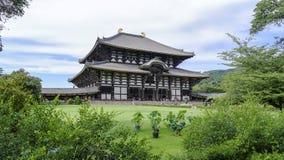Ναός Todaiji - Νάρα - Ιαπωνία Στοκ φωτογραφία με δικαίωμα ελεύθερης χρήσης
