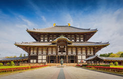 Ναός Todaiji στο Νάρα, Ιαπωνία στοκ φωτογραφία με δικαίωμα ελεύθερης χρήσης