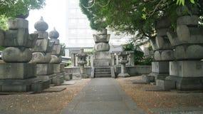 Ναός Touchou, Ιαπωνία Στοκ εικόνες με δικαίωμα ελεύθερης χρήσης