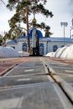 Ναός uspensko-Nikolsky σε Yalutorovsk Ρωσία Στοκ Φωτογραφίες