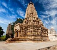 Ναός Vaman σε Khajuraho Στοκ φωτογραφία με δικαίωμα ελεύθερης χρήσης
