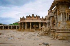 Ναός Vittala σύνθετος, χτισμένος στο 15ο αιώνα, Hampi, Karnataka, Ινδία Στοκ Εικόνες