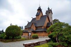 Ναός WANG σε Karpacz Στοκ εικόνα με δικαίωμα ελεύθερης χρήσης