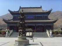 Ναός Wanghaisi Στοκ Εικόνες