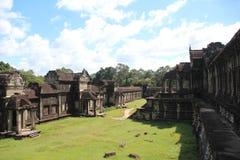 Ναός Wat Angkor Καμπότζη Το Siem συγκεντρώνει την επαρχία Το Siem συγκεντρώνει την πόλη Στοκ Εικόνα