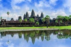 Ναός Wat Angkor, Καμπότζη Στοκ φωτογραφίες με δικαίωμα ελεύθερης χρήσης