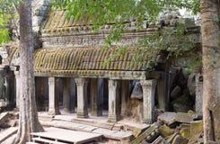 Ναός Wat Angkor σύνθετος Στοκ εικόνες με δικαίωμα ελεύθερης χρήσης
