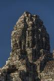 Ναός Wat Angkor το καυτό ηλιόλουστο πρωί Στοκ Φωτογραφίες