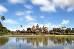 Ναός Wat Angkor Στοκ Φωτογραφία