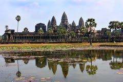 Ναός Wat Angkor Στοκ εικόνα με δικαίωμα ελεύθερης χρήσης