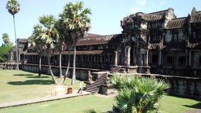 Ναός Wat Angkor Στοκ Εικόνες