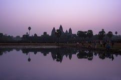 Ναός Wat Angkor Στοκ εικόνες με δικαίωμα ελεύθερης χρήσης