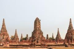 Ναός Wat Chaiwatthanaram Στοκ εικόνες με δικαίωμα ελεύθερης χρήσης