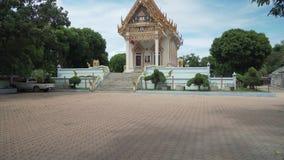 Ναός Wat Khunaram Koh Samui στο βίντεο μήκους σε πόδηα αποθεμάτων της Ταϊλάνδης απόθεμα βίντεο