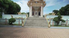 Ναός Wat Khunaram Koh Samui στο βίντεο μήκους σε πόδηα αποθεμάτων της Ταϊλάνδης φιλμ μικρού μήκους