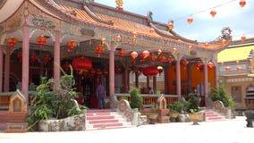 Ναός Wat Mungkorn buppharam κινέζικα στην Ταϊλάνδη φιλμ μικρού μήκους