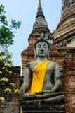 Ναός Yai Chaimongkol Wat Στοκ φωτογραφία με δικαίωμα ελεύθερης χρήσης