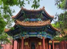 Ναός Yonghe λάμα στο Πεκίνο Κίνα στοκ εικόνα