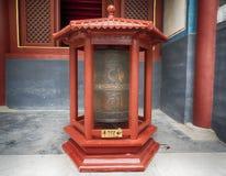 Ναός Yonghe στο ναό λάμα, Πεκίνο, Κίνα στοκ εικόνα