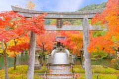 Ναός Zenrinji Eikando Στοκ Φωτογραφίες