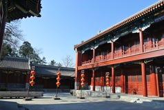 Ναός Zhengjue στο πάρκο Yuanmingyuan Στοκ Εικόνες