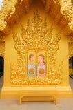 ΝΑΌΣ WAT RONG KHUN, CHIANGRAI στοκ φωτογραφίες