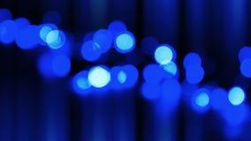 Να αναβοσβήσει μπλε οδηγημένα φω'τα απόθεμα βίντεο