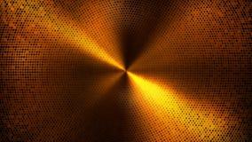 Να αναβοσβήσει υπόβαθρο βρόχων κύκλων πινάκων φω'των Χρυσή έκδοση απεικόνιση αποθεμάτων