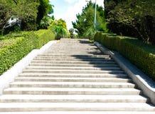 Να ανεβεί κλιμακοστάσιων στο πάρκο το καλοκαίρι Στοκ φωτογραφίες με δικαίωμα ελεύθερης χρήσης