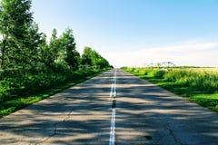 Να ανεβεί το δρόμο ασφάλτου Στοκ Εικόνες