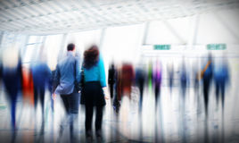Να ανταλάξει περπατήματος ώρας κυκλοφοριακής αιχμής επιχειρηματιών έννοια πόλεων Στοκ εικόνες με δικαίωμα ελεύθερης χρήσης