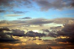 να απειλήσει ουρανού Στοκ Φωτογραφία
