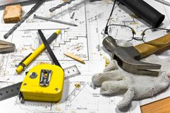 να βρεθεί ξυλουργών δια&p Στοκ Εικόνες