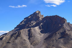 Να γοητεύσει ξηρό τοπίο στην περιοχή βουνών Himalayan Leh Ladakh Στοκ εικόνες με δικαίωμα ελεύθερης χρήσης