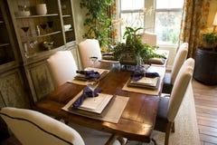 να δειπνήσει δωμάτιο πολυτέλειας Στοκ Εικόνες