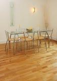 να δειπνήσει εσωτερικό σύγχρονο δωμάτιο Στοκ εικόνα με δικαίωμα ελεύθερης χρήσης