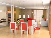 να δειπνήσει ζώνη καθιστι&k Στοκ φωτογραφία με δικαίωμα ελεύθερης χρήσης